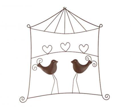 Nástenná dekorácia Heart Birds