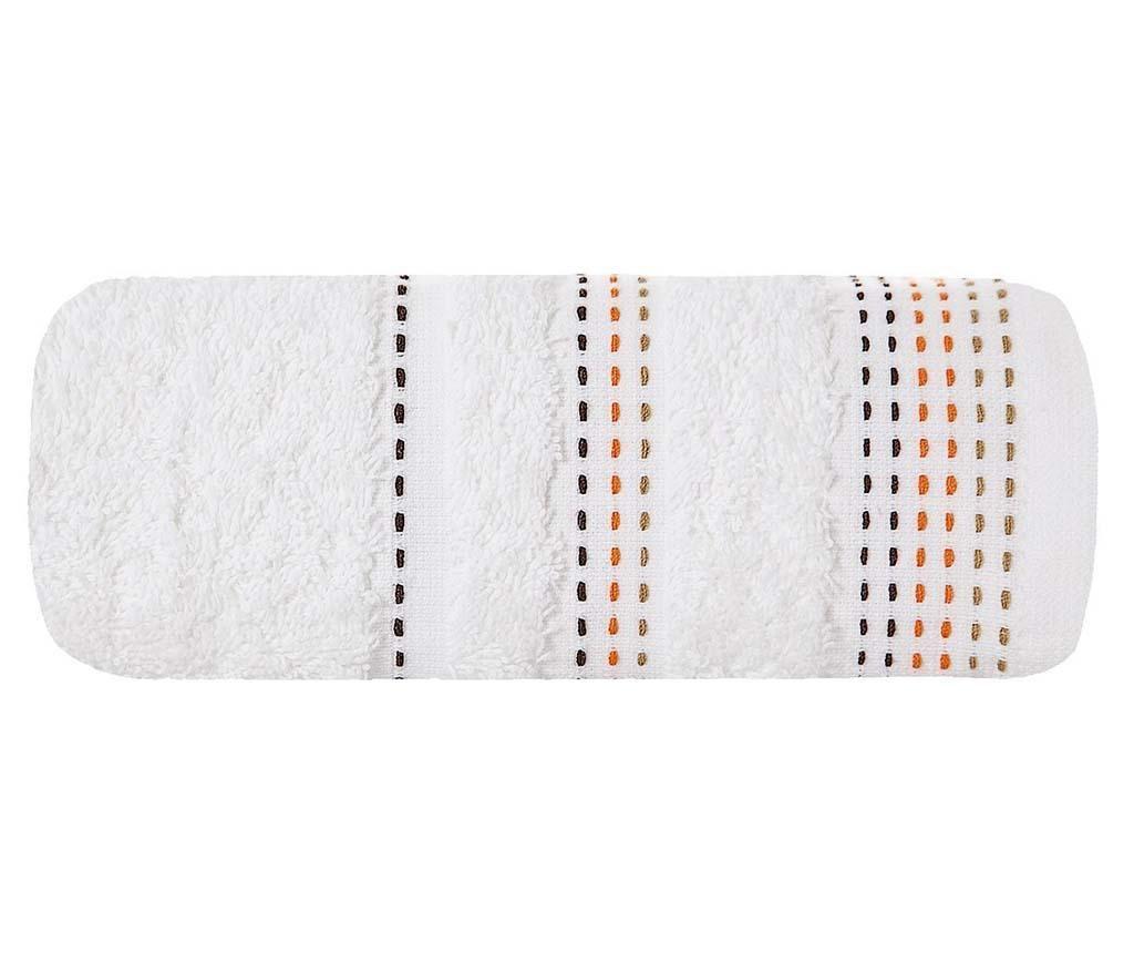 Kopalniška brisača Paola White 50x90  cm