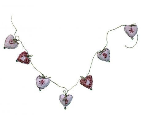 Ghirlanda cu clopotei Embroidered Heart