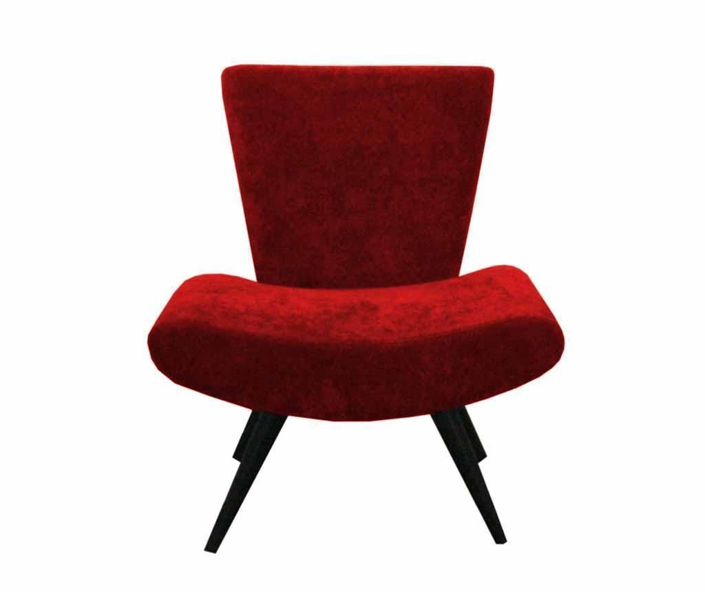 Fotelja Max Ibiza Dark Red