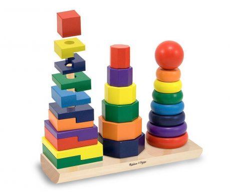 Joc educativ Rainbow Shapes