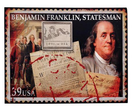 Стенна декорация Benjamin Franklin