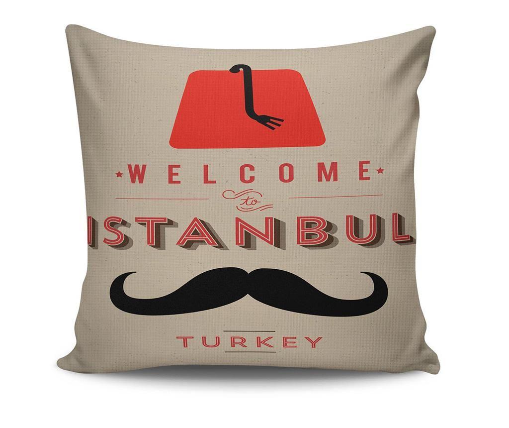 Welcome to Istanbul Díszpárna 45x45 cm
