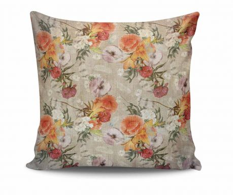 Perna decorativa Ancient Flowery 45x45 cm