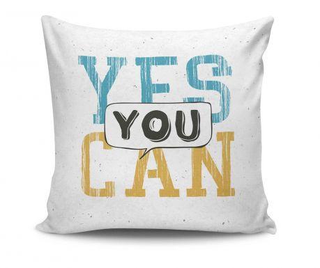 Dekorační polštář Yes You Can 45x45 cm