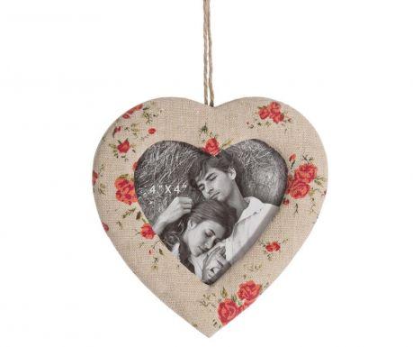 Foto okvir Heart Flowers