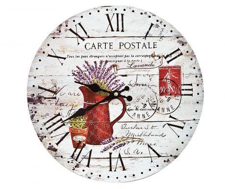 Zidni sat Carte Postale