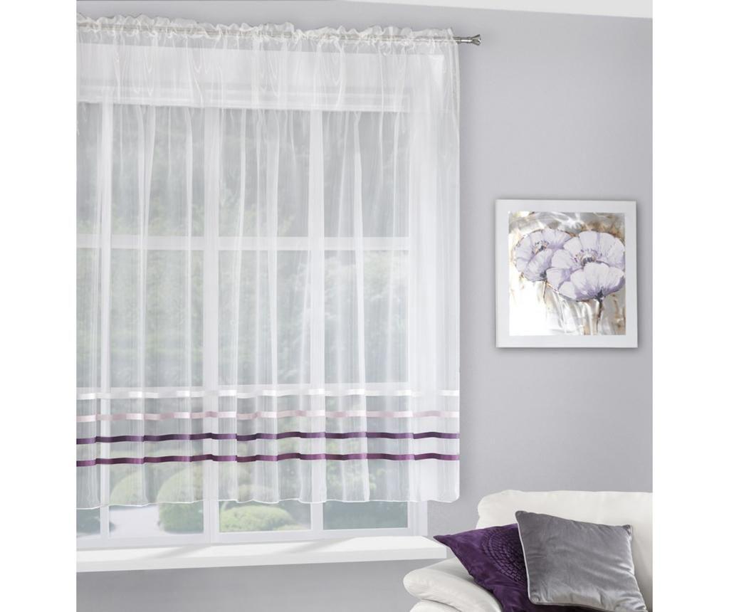 Zavesa Gabi Evio Cream Purple 160x295 cm