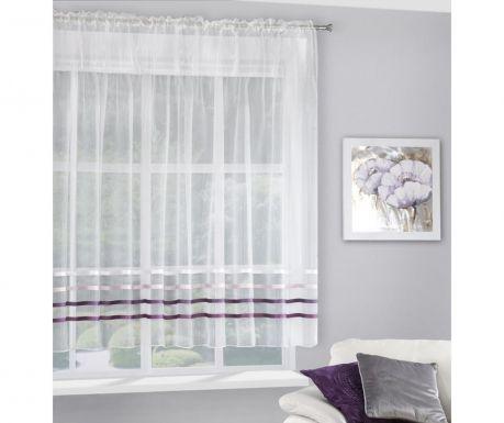 Perdea Gabi Evio Cream Purple 160x295 cm