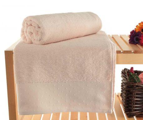 Zestaw 2 ręczników kąpielowych Polka Dots Powder 90x150 cm