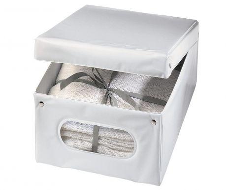Úložná krabice s víkem Class White