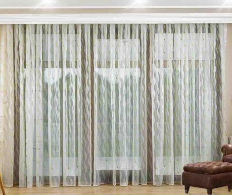Koba Green Függöny 200x260 cm