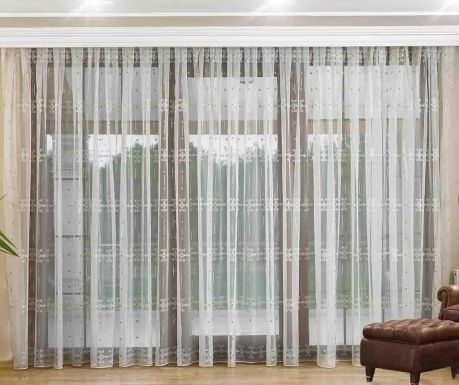 Curtain Welma Green 200x260 cm