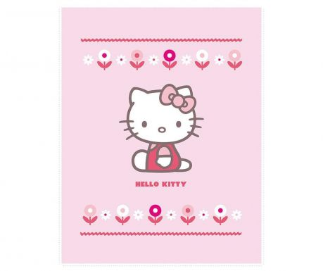 Pled Hello Kitty Caroline 110x140 cm