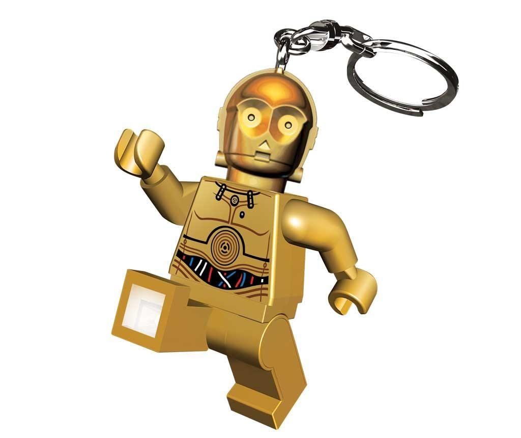 Star Wars C3PO Led-es kulcstartó