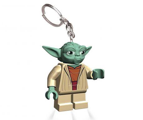 Obesek za ključe z lučko Star Wars Yoda