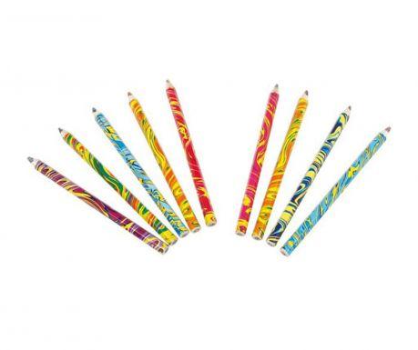 Set 9 creioane multicolore Waves