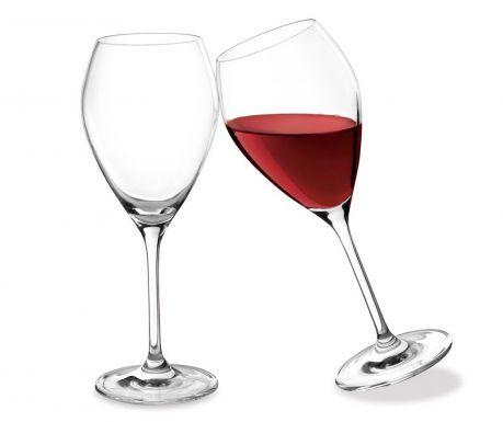 Set of 2 wine glasses Drop 320 ml