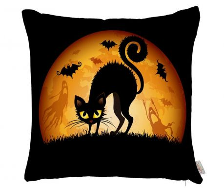 Fata de perna Moon Cat 43x43 cm