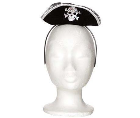Bentita cu accesoriu palarie Pirate