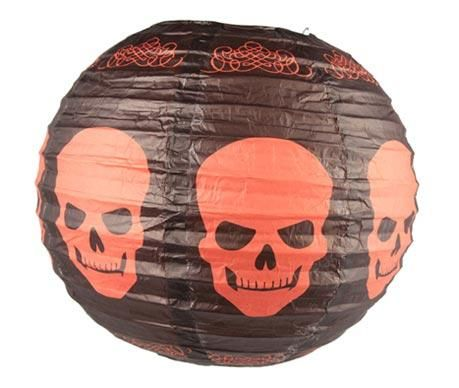 Abajur Halloween Skulls