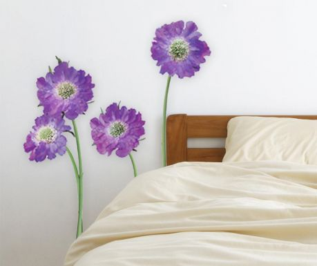 Purple Flower Matrica