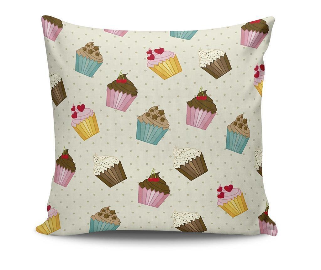 Ukrasni jastuk Sweet Cupcakes 45x45 cm