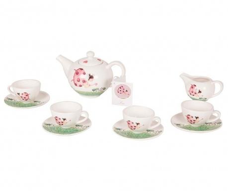 Set de jucarie 10 piese servire ceai Godmother