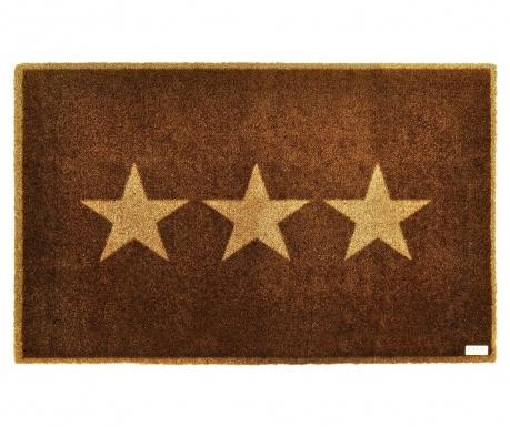 Predpražnik Triple Star Brown 50x70 cm