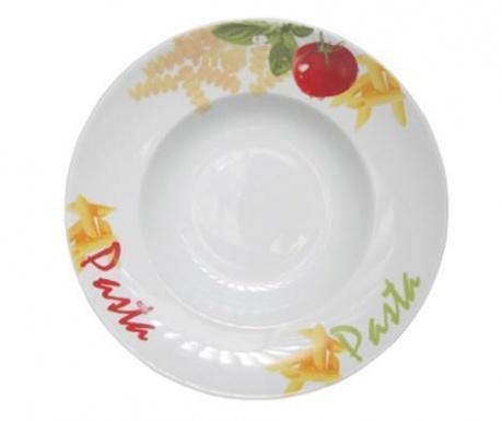 Ingredients Tésztás tányér