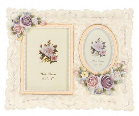 Ramka na 2 zdjęcia Paisley Roses