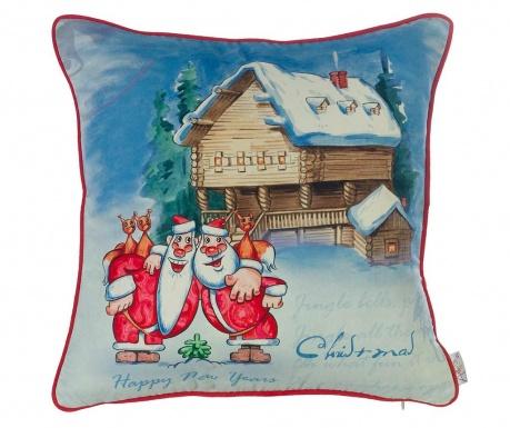 Fata de perna Friendly Christmas 43x43 cm