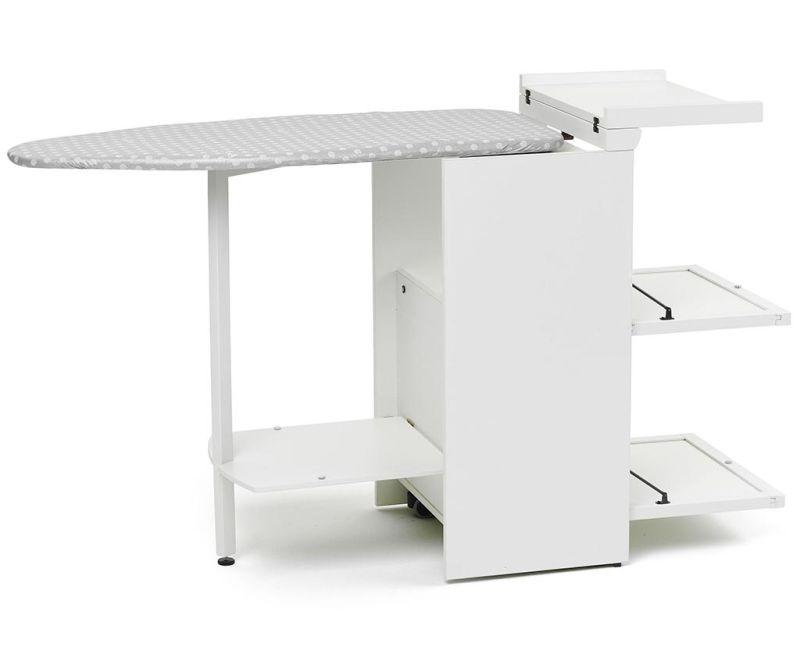 Stiromobile Off White Vasalóasztal szekrénnyel