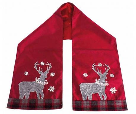 Тишлайфер за маса Rudolph Red 14x72 см
