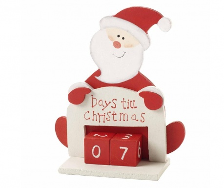 Calendar Counting Santa