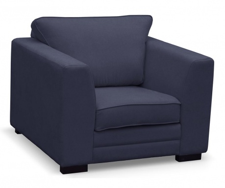 Fotel Taffetas Navy Blue