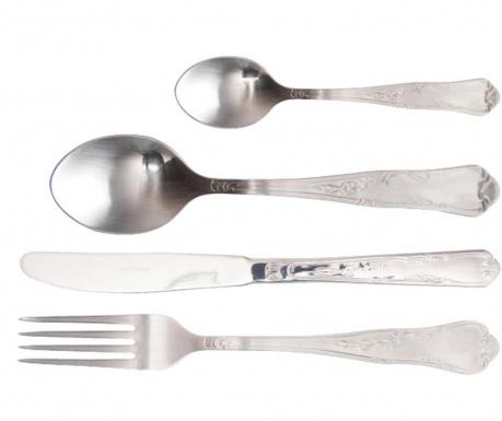 Комплект прибори за хранене 24 части Traditional Grey