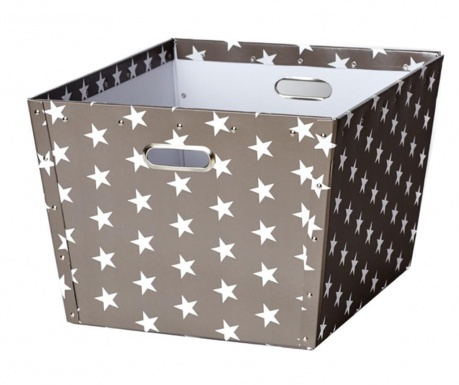 Cutie pentru depozitare Ajax Stars Dark Grey L