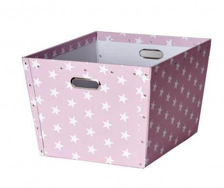 Кутия за съхранение Ajax Stars Pink L