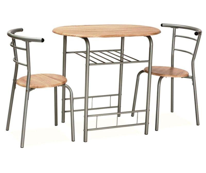 Sada stůl a 2 židle Glill Brown