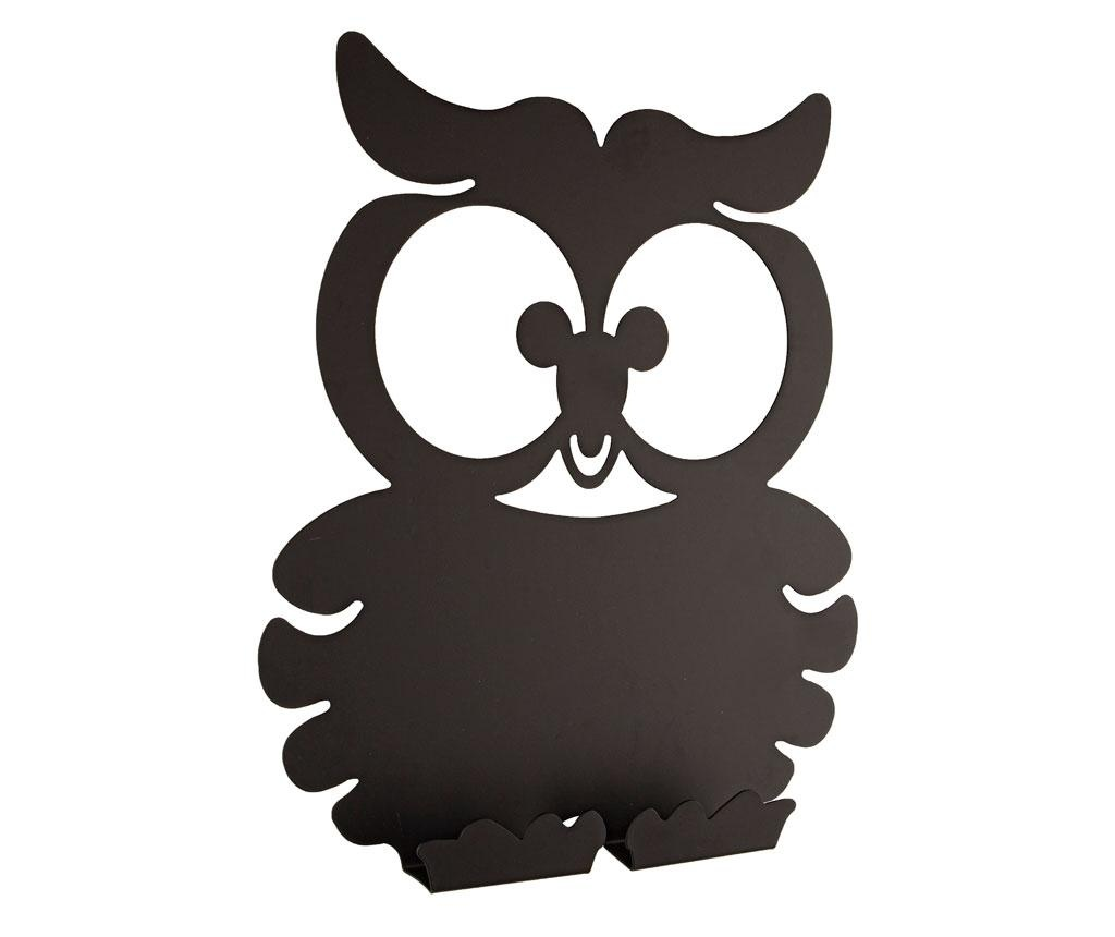 Obešalnik s pisalno tablo Owl