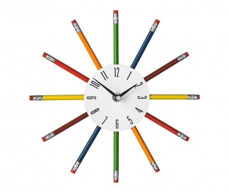 Nástěnné hodiny Pencils