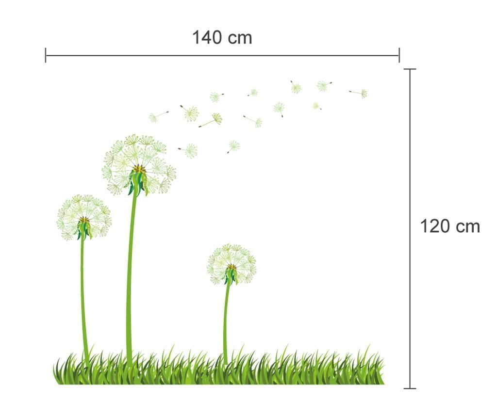 Naklejka fluorescencyjna Dandelion