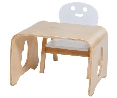 375c38c10718 Sada detský stolík a stolička Face White - Vivrehome.sk