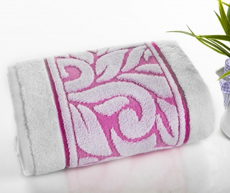 Ręcznik kąpielowy Ahsen Pink 50x90 cm