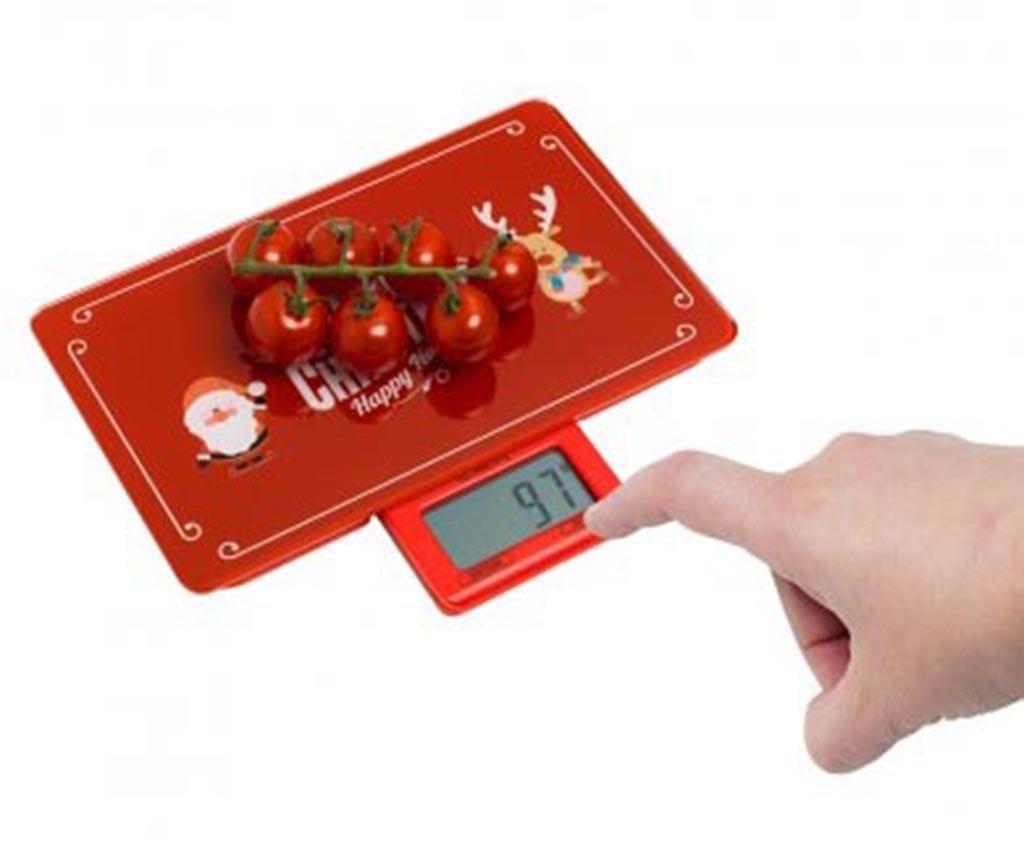 Merry Christmas Digitális konyhai mérleg