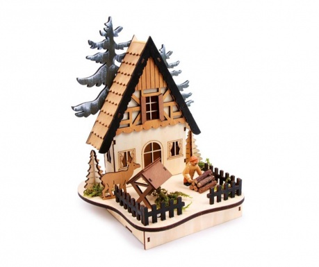 Dekoracja świetlna Forest-Hut