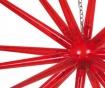 Viseča svetlobna dekoracija Red Star