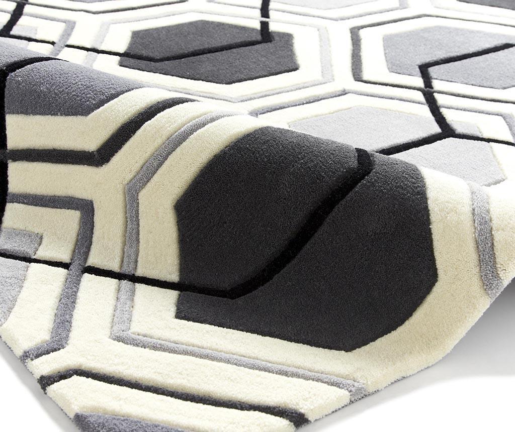 Covor Hong Kong Mixlines Grey 90x150 cm