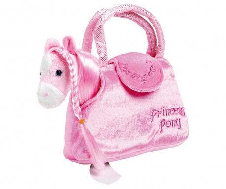 Set geanta si ponei de jucarie Princess